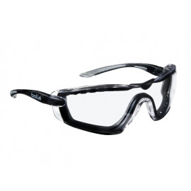 Bolle COBRA PSI PLATINUM® Safety Glasses with Foam Arms Clear