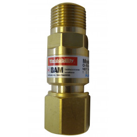 ON TORCH FLASH BACK ARRESTOR RH 3/8 OXYGEN