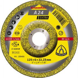 A 24 Extra –125 x 6 x 22  Kronenflex Grinding Disc