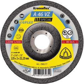 A46VZ 125 X 2 X 22 CUTTING/GRINDING DISC (MINIMUM ORDER 25)