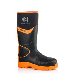 BBZ8000 Hi-Vis S5 Wellington Boots S5 HRO CI HI AN SRC