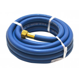 10MTR 3/8-10MM  FITTED OXYGEN  BLUE HOSE