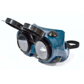 50MM ROUND FLIP-FRONT GOGGLE
