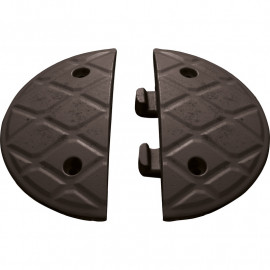 JUMBO 5 MPH END CAPS BLACK ONLY (PAIR)