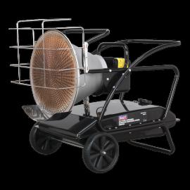 Infrared Paraffin/Kerosene/Diesel Heater 28/37kW 230V