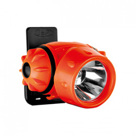 Helmet Mounted Lamp with CREE Q5 LED - Hi-Vis
