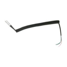 Motorscrubber MSJ01 3 Core Coiled Cable & Quick Fit Connector