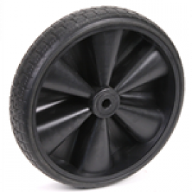 IR37 Wheel,fixed plastic (D:250 W:55 B:12)
