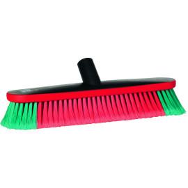 Vehicle Brush, Water fed, 370 mm, Soft/split, Black