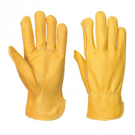 Lined Driver Glove Tan - A271