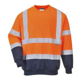 Two Tone Hi-Vis Sweatshirt  -B306