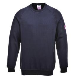 FR12 - Flame Resistant Anti-Static Long Sleeve Sweatshirt