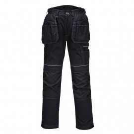 Portwest- PW305 - PW3 Stretch Holster Work Trouser Black