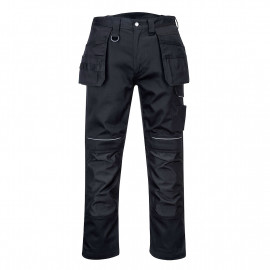 Portwest- PW347 - PW3 Cotton Work Holster Trouser Black