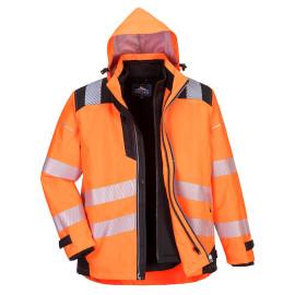 Portwest- PW365 - PW3 Hi-Vis 3-in-1 Jacket