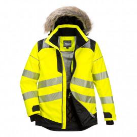Portwest- PW369 - PW3 Hi-Vis Winter Parka Jacket