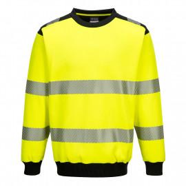 Portwest- PW379 - PW3 Hi-Vis Crew Neck Sweatshirt
