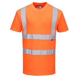 RT23 - Hi-Vis T-Shirt RIS Orange