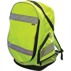 Hi-Vis Yellow Backpack - SCAWWBACKPKY