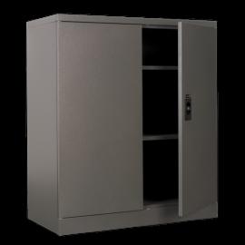 Industrial Floor Cabinet 2 Shelf 2 Door