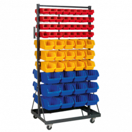 Mobile Bin Storage System 118 Bin