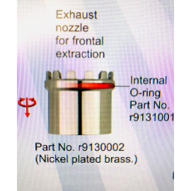 R9130002 REGULAR FRONT EXTRACTION FUME NOZZLE