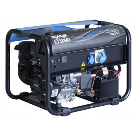 SDMO TECHNIC 6500 E AVR C5 Portable Power Generating set, equipped with 14 HP KOHLER engine.