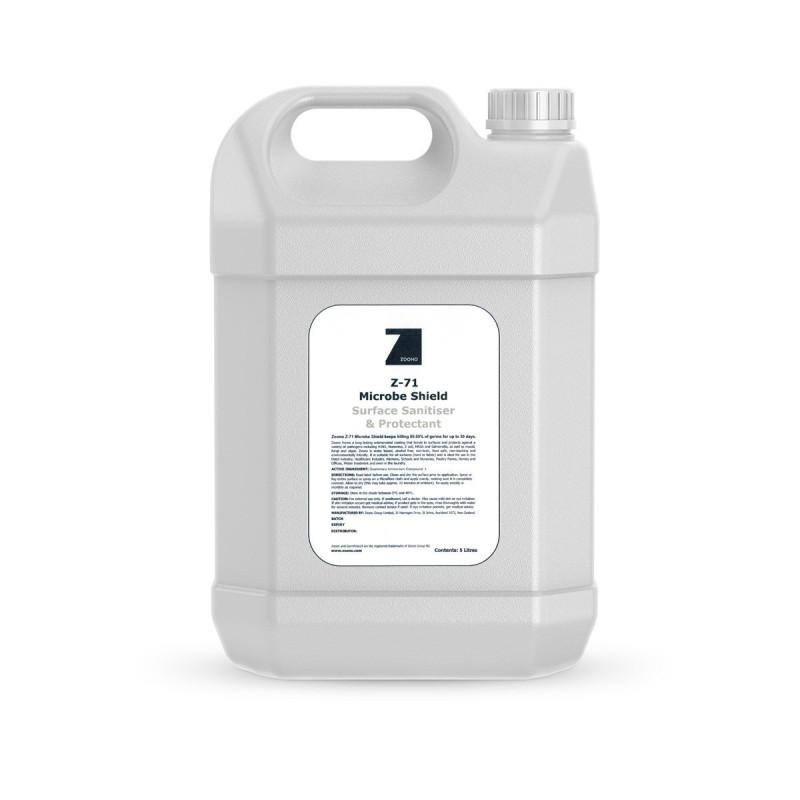 Zoono Z-71 5-Litre Bottle Microbe Shield Virus Protector