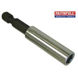 Magnetic Bit Holder 1/4in 60mm Standard