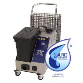SV8000 Steam and vacuum cleaner for multi-purpose and heavy duty cleaning and disinfection