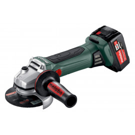 W18LTX METABO 125MM CORDLESS GRINDER KIT 2 X 5.2AH BAT